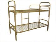 Кровати со спинками ДСП,  кровати для лагеря,  кровати одноярусные оптом