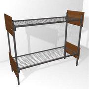 Одноярусные кровати,  кровати металлические для санатория