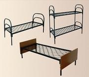 Кровати железные для строителей,  рабочих,  общежитий,  больниц и др