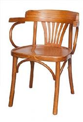 Деревянный венский стул-кресло Классик