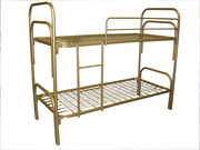Железные кровати для рабочих,  студентов,  кровати дешево оптом.