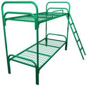 Железные кровати для рабочих ,  казарм,  лагерей, оптом от производителя