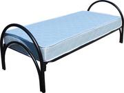 Металлические кровати одноярусные,  двухъярусные,  трехъярусные,  оптом