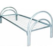 Одноярусные кровати металлические для больниц,  кровати для казарм .