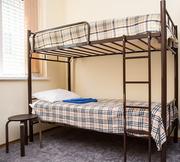Кровати двухъярусные односпальные металлокаркас