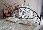 Кровать двуспальная металлическая на заказ
