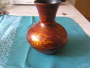 Декоративная ваза из дерева производства Японии